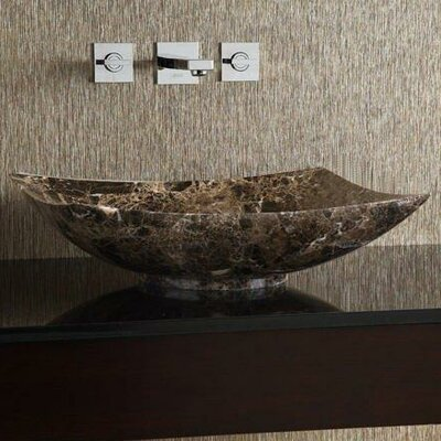 Emporio Stone Square Vessel Bathroom Sink