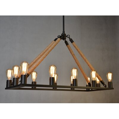 12-Light Kitchen Island Pendant