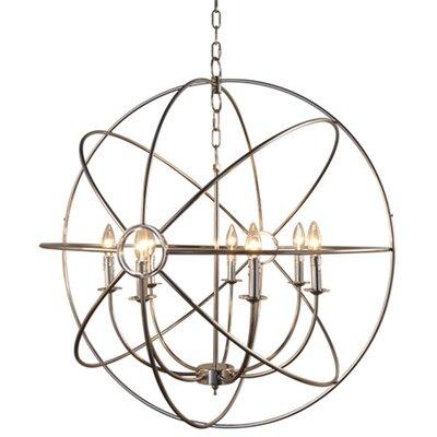 Millikan 7-Light Globe Pendant Finish: Satin Nickel