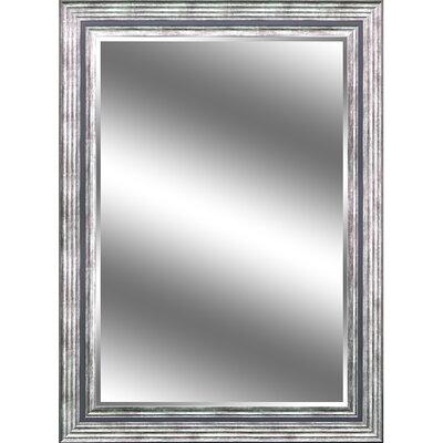 """REFLECTION """" 1"""" Bevel Mirror 5"""" Odessa Silver colour frame EC4460OS5"""