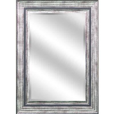 """REFLECTION """" 1"""" Bevel Mirror 5"""" Odessa Silver colour frame EC3143OS5"""