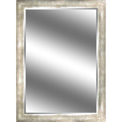 "REFLECTION "" 1"" Bevel Mirror 3.75"" Champagne colour frame EC4460CH"