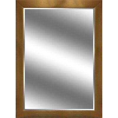 """REFLECTION """" 1"""" Bevel Mirror 3.75"""" Gold colour frame EC4460GD"""