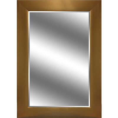 """REFLECTION """" 1"""" Bevel Mirror 3.75"""" Gold colour frame EC3143GD"""