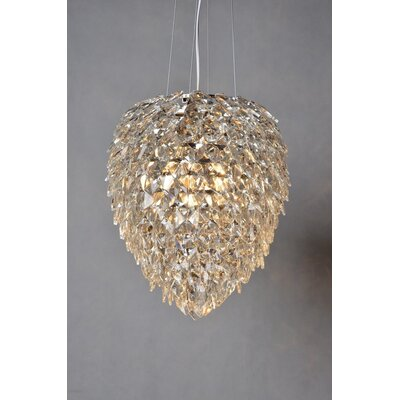 Cheap 3 Light Crystal Chandelier for sale