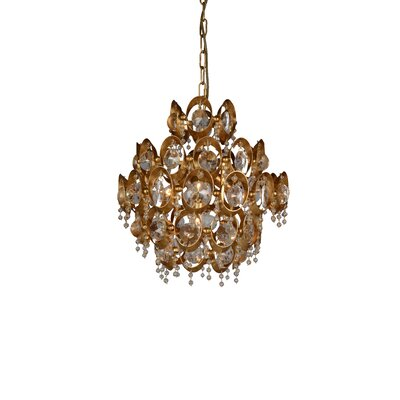 Donovan 4-Light Crystal Pendant