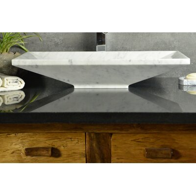 Bliss Rectangular Vessel Bathroom Sink