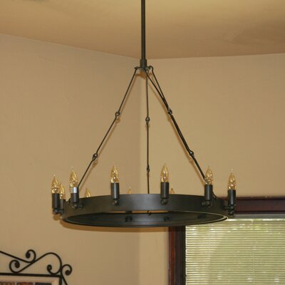 Verdun 12-Light Candle-Style Chandelier