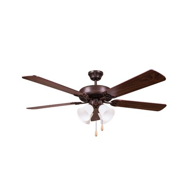 52 Eastgate 5-Blade Ceiling Fan Finish: Oil Rubbed Bronze