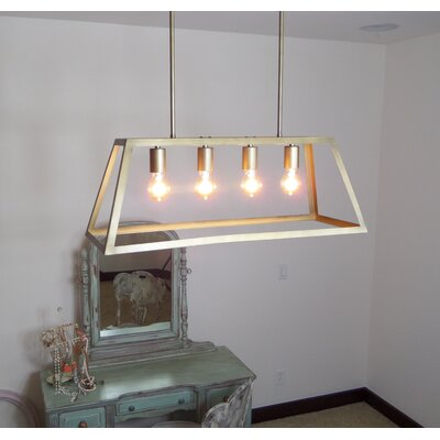 Chastain 4 Light Kitchen Island Pendant