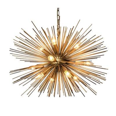 Ullman 12-Light Sputnik Chandelier Size: 60 H x 29.5 W x 29.5 D