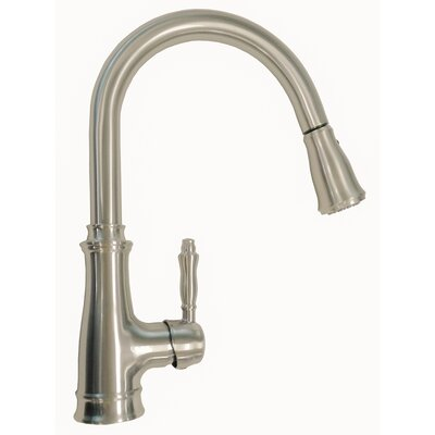 Luxurious Single Handle Pull Down Standard Kitchen Faucet