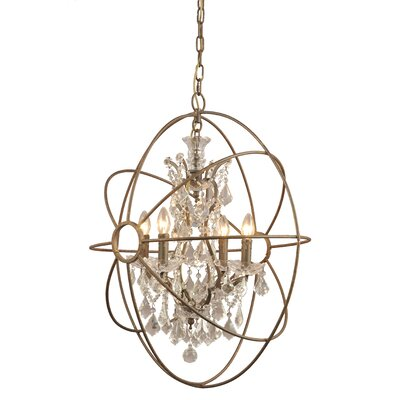 Madisyn 4-Light Crystal Chandelier