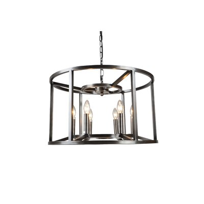 McGuinness 6-Light LED Candle-Style Chandelier