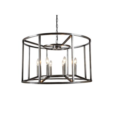 McGuinness 8-Light LED Candle-Style Chandelier