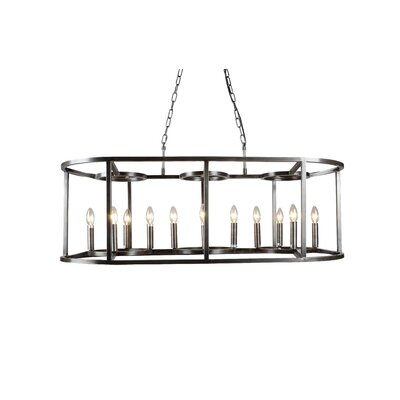 McGuinness 12-Light LED Candle-Style Chandelier