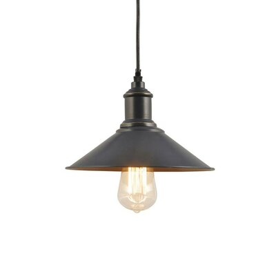 Georgi 1-Light Mini Pendant Finish: Nickel Plated