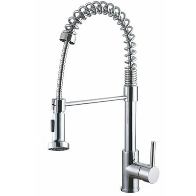 Luxurious Single Handle Pull Out Kitchen Faucet