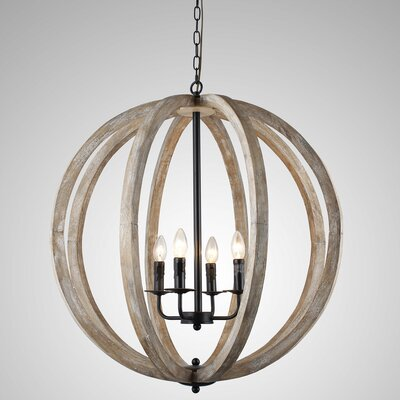 Allaryce 4-Light Globe Pendant