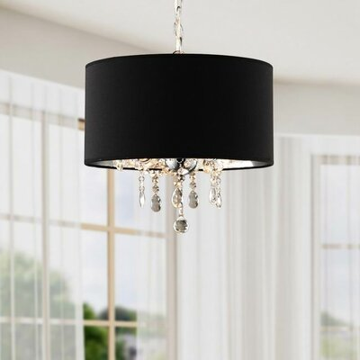 3-Light Drum Chandelier