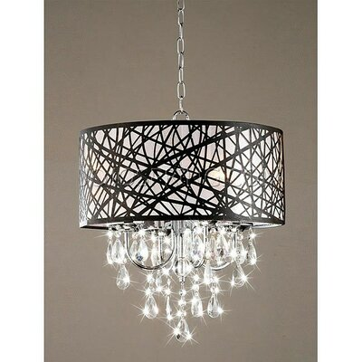 Mchone 4-Light Drum Chandelier