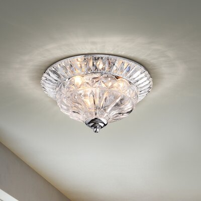 Mckain 3-Light Flush Mount