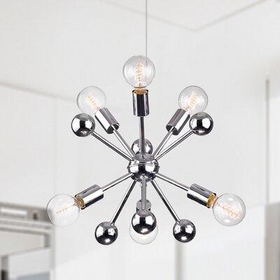 Lorena Sputnik Industrial 6-Light Cluster Pendant