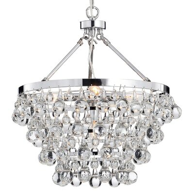 Indoor 5-Light Luxury Crystal Pendant