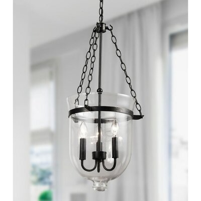 3-Light Mini Chandelier