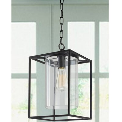 Didmarton Glass 1-Light Foyer Pendant