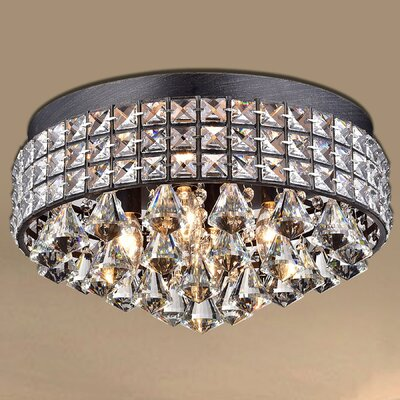 Madilynn Modern 4-Light Flush Mount
