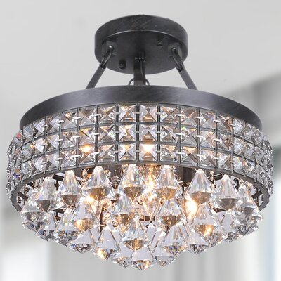 Antonia 4-Light Semi Flush Mount