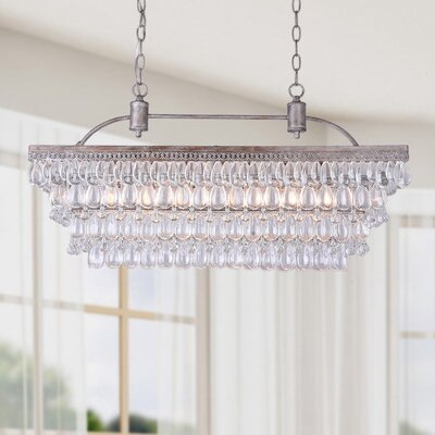 Mckinsey 6-Light Crystal Pendant