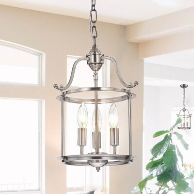 Labarge Indoor 3-Light Foyer Pendant