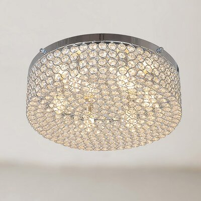 Berta 6-Light Flush Mount
