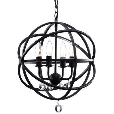 Dalveen 4-Light Foyer Pendant