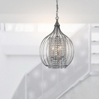 Palos 3-Light Foyer Pendant