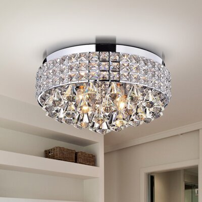 Antonia 4-Light Flush Mount