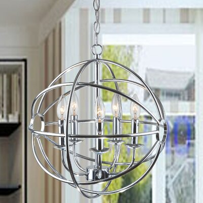 Westmoreland 5-Light Globe Pendant