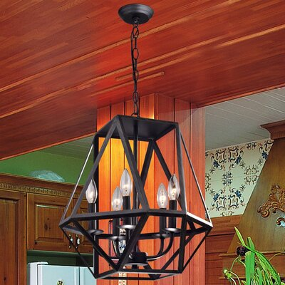 Frankie 5-Light Foyer Pendant