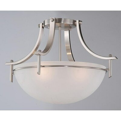 Monceau 3-Light Semi Flush Mount