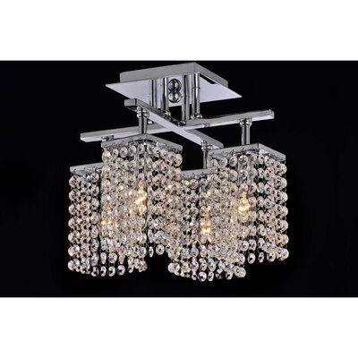 Mclendon 4-Light Semi Flush Mount
