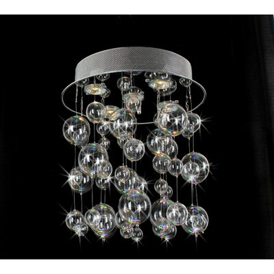 Sadowski 5-Light Flush Mount