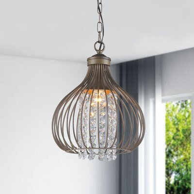 Marcela 1-Light Inverted Pendant