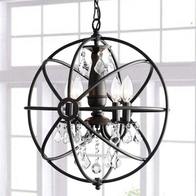 Dalveen 4-Light Globe Pendant