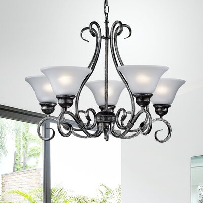 Montague 5-Light Shaded Chandelier