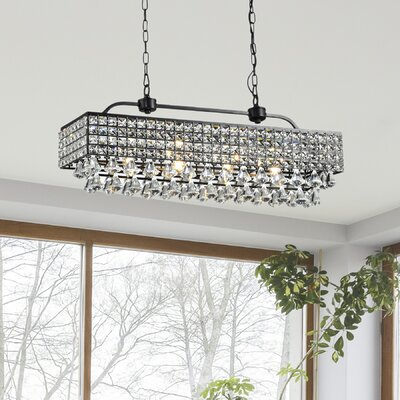 Madilynn Modern 5-Light Crystal Mini Pendant
