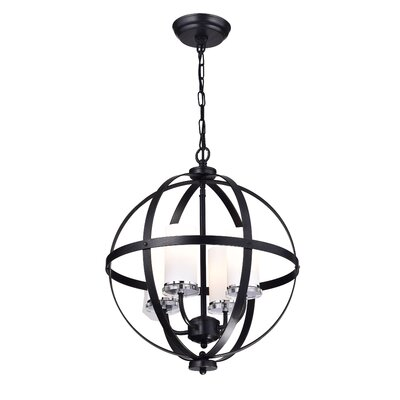 Brook Hollow 4-Light Globe Pendant