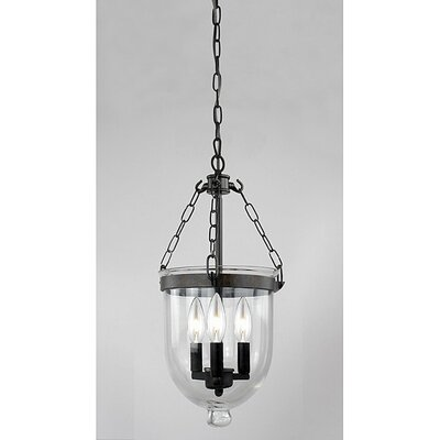 MontBlue 3-Light Bowl Pendant
