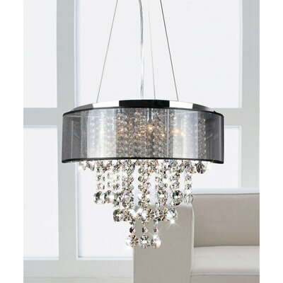 Mcmaster 9-Light Drum Pendant
